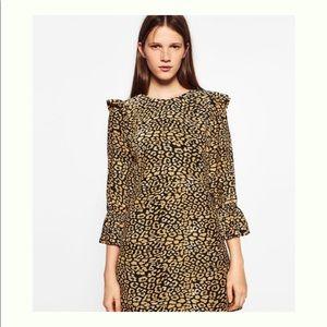 🆕 Zara Trafaluc Cheetah Print Dress